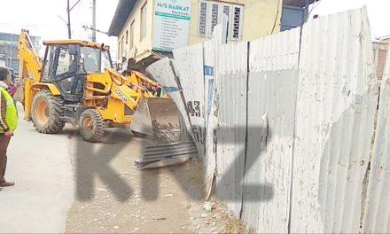 Anti-encroachment drive in Ganderbal
