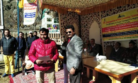 Skill Development Training Programme Concludes in Ganderbal.