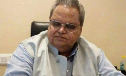 Disappointed with Delhi for demonizing Kashmir at every level: Governor Malik