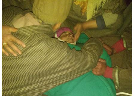 Woman dies of tear smoke in Hajin locality, alleges family; Police refute