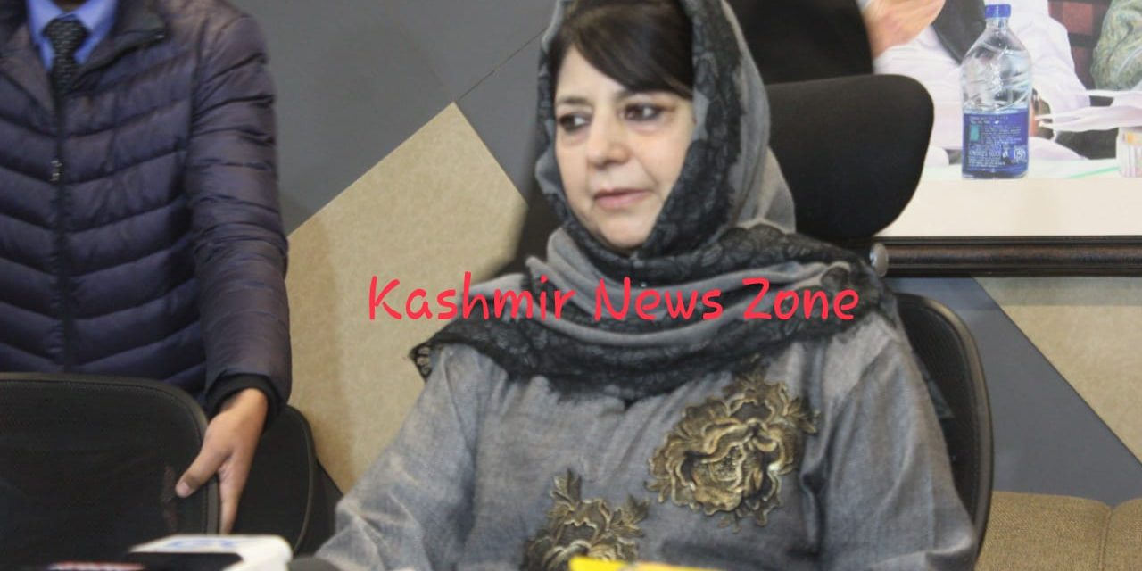 Mehbooba requests Home Minister for early release of Hurriyat leader Shahid-ul-Islam