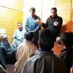 National Conference members held a meeting in the regard of elections in Anantnag
