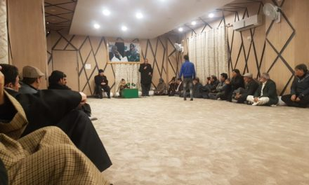 PDP crucial meeting going on in Srinagar, Muzaffar Beigh present