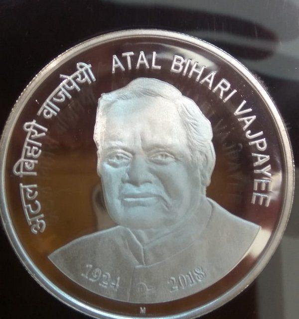 PM Modi Releases Rs 100 Coin In Memory Of Atal Bihari Vajpayee