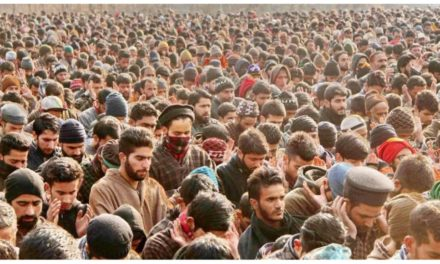Pro-freedom slogans, dirges, wedding songs mark funeral prayers of slain militant teenagers in north Kashmir's Hajin
