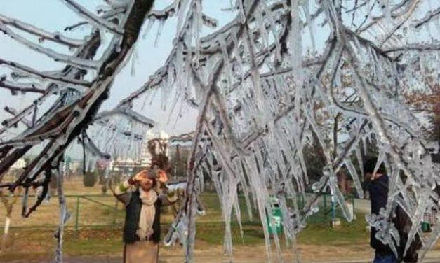 Coldest December Night In Srinagar In 28 Years