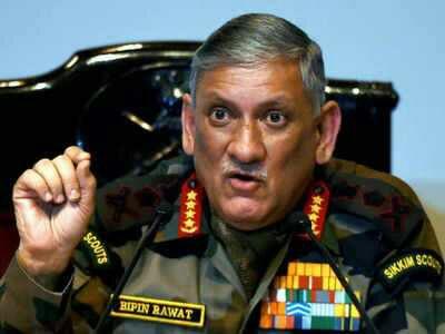 Shun gun, stop taking support from Pakistan, Rawat to Kashmir separatists on talks