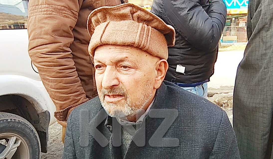 Sibtain Shah senior youth congress leader condoled demise of senior PDP leader Qazi Mohd Afzal