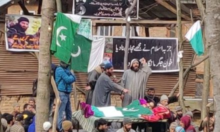 Thousands participate in multiple funerals held for slain militants in Awantipora amid shutdown