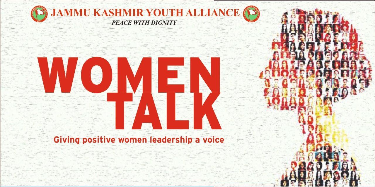 Jammu Kashmir Youth Alliance organised event on Women Talk at Cafe Fine Dine