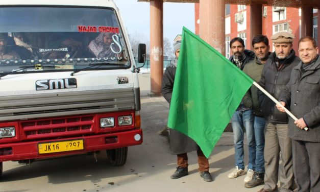 ADDC flags off newly elected Sarpanchs for training