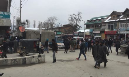 Flash:Grenade attack on CRPF party in Srinagar