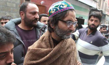 Yasin Malik arrested ahead of scheduled protest on Gaw Kadal massacre anniversary