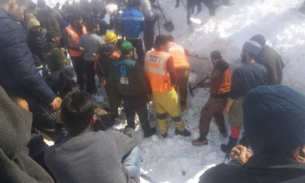 Seven  dead bodies recovered from avalanche near Jawahar Tunnel