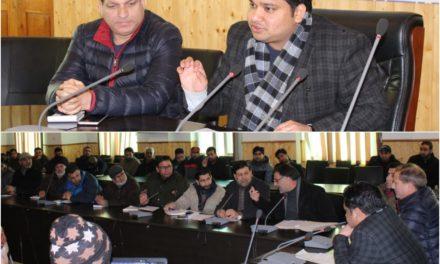 DDC Ganderbal for speedy implementation of PM-KSN Yojana