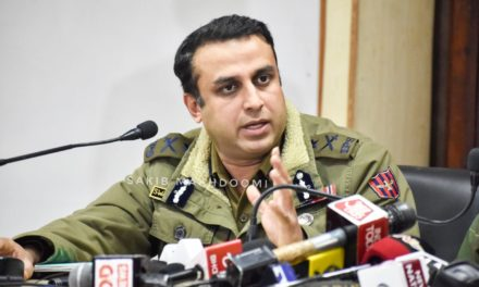 Signifiant dip in militant recruitment in Kashmir: IGP Pani