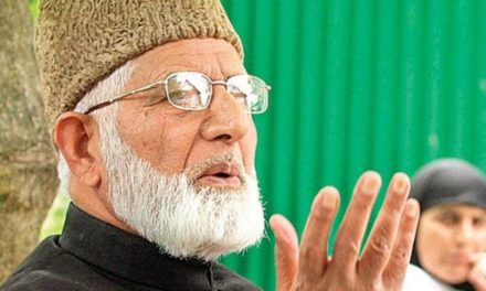 Government attaches Syed Ali Geelani's New Delhi flat for failing to pay taxes