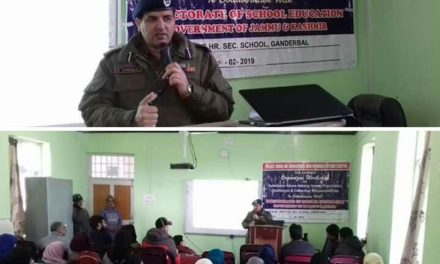 Seminar on drug de-addiction held at Ganderbal
