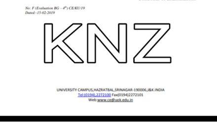 KU: Attention Notice for B G 4th Semester Students of Regular Batch – 2016
