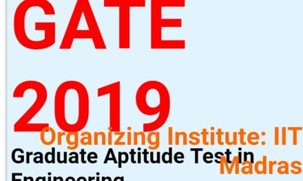 GATE-2019: Question papers & official Answer Keys are available