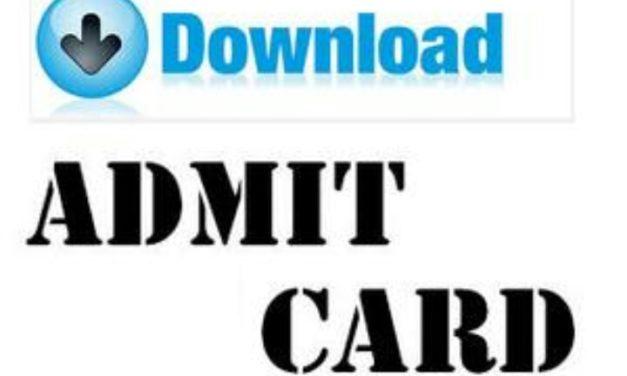 KU: Admit Cards for UG 5th & 6th Sem Backlog Candidates Batch 2015
