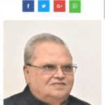 Jammu and Kashmir Governor Satya Pal Malik greets people on Nauroz, Holi