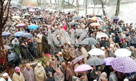 Senior PDP leader Qazi Afzal laid to rest at Lar Ganderbal