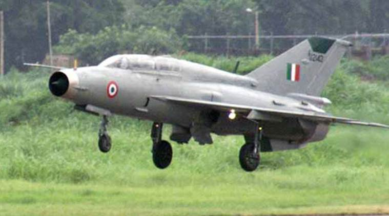Indian Air Force's MiG-21 crashes in Rajasthan's Bikaner, pilots eject safely