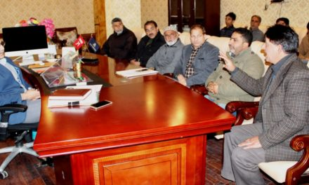 Deputation from Sainik School meets DDC Ganderbal