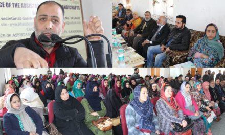 Handicrafts Department organizes artisan awareness camp at Ganderbal
