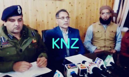 General Elections 2019: DEO Ganderbal briefs media