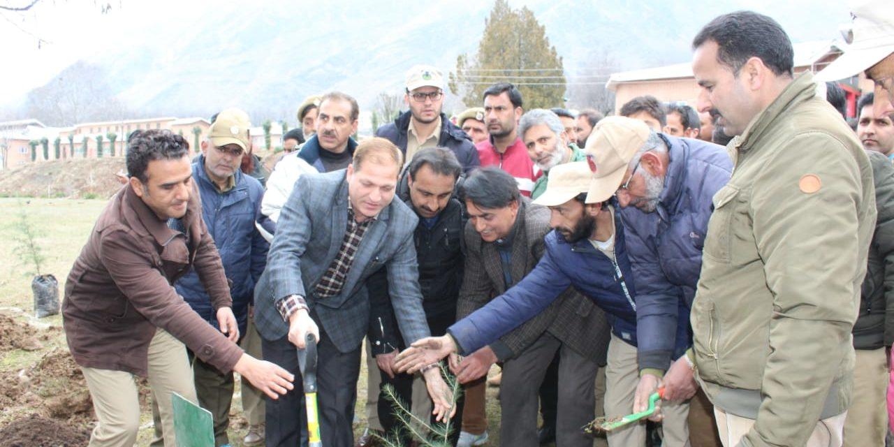 Social forestry kick starts Plantation Drive at Ganderbal