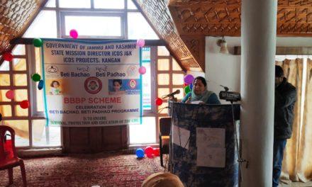 Awareness programme on Beti Bachao Beti Padhao held in Kangan