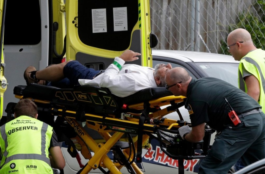 Shooting at New Zealand mosque, casualties feared