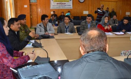 General Observer for 3 assembly segments of Budgam reviews election preparedness