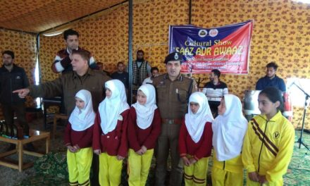 Cultural Show Cum Singing Contest Organised By District Police Ganderbal