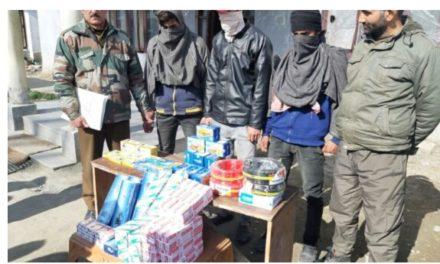 Police Solves Theft Case In Budgam, 3 Arrested, Stolen Property Recovered