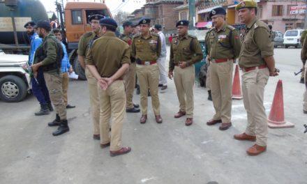 IGP Kashmir visits Dargah Sharief Hazratbal.