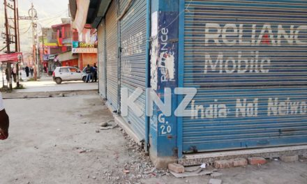 Complete shutdown continued for the Fourth consecutive day in Nunner Ganderbal