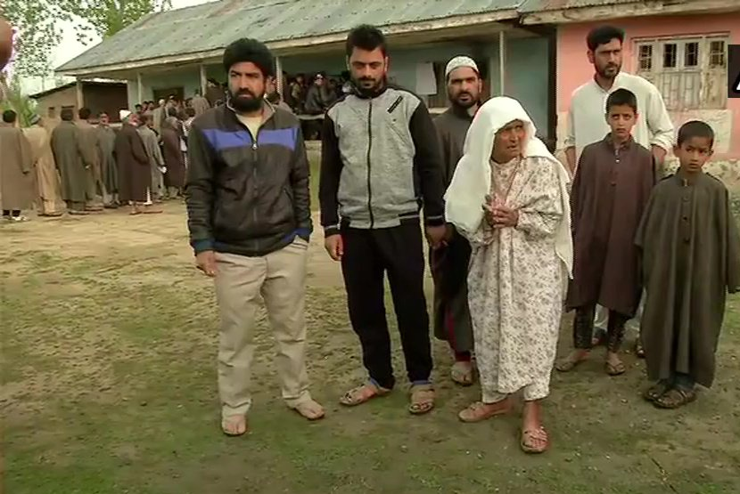 Bla, Jammu Parliamentary constituencies witness over 24 percent polling till 12.00 noon
