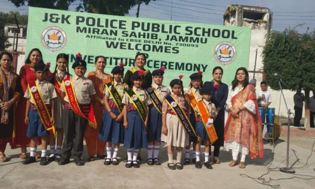 JKPPS Organises Investiture Ceremony for Primary Wing