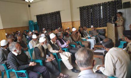 SSP Srinagar held meeting with retired police personnel, Reviewed welfare measures