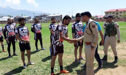 SSP Bandipora interacts with students at Gujjar & Bakarwal hostel in Kaloosa Bandipora
