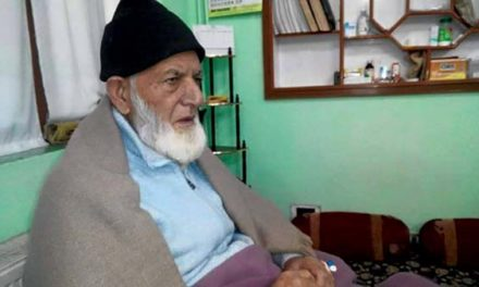 Syed Ali Geelani admitted in SKIMS' ICU, Stable