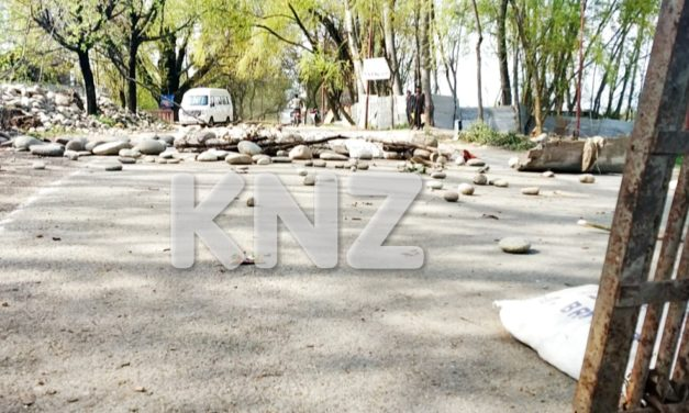 Nunner Ganderbal shuts down on second day against killing of Local Militant