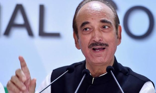 Congress will never allow BJP to revoke Art 370: Azad