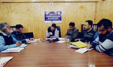 DC Bandipora urges unemployed youth to focus on agriculture sector