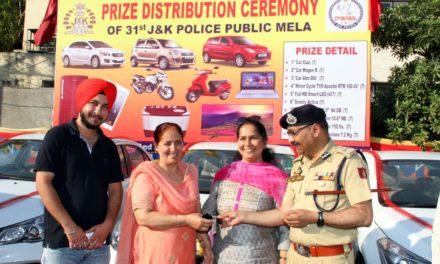 31st Police Public, 'Mela Prize Distribution held; DGP Congratulates Winners