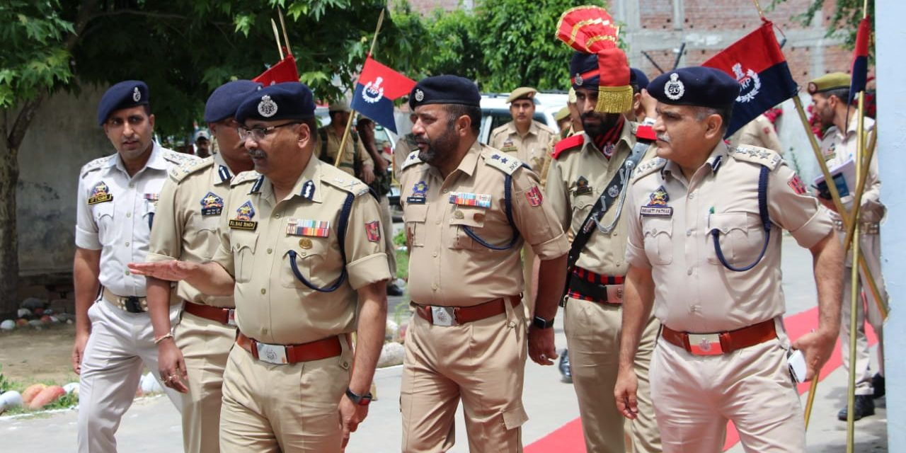 DGP chairs officers' meeting at Kishtwar, Baderwah reviews law & order/security situation