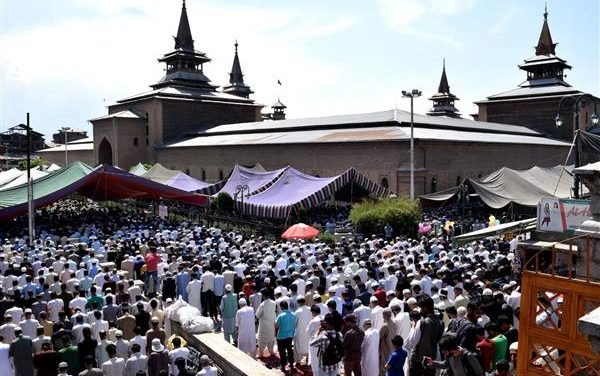Youm Ul Quds and Kashmir day observed in valley